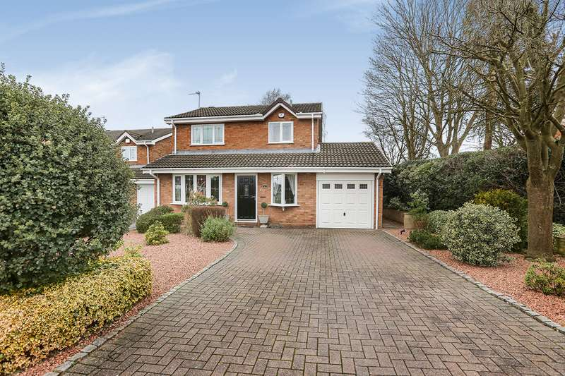 4 Bedrooms Detached House for sale in Richmond Drive, Perton, Wolverhampton, Staffordshire, WV6