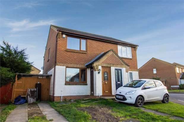 2 Bedrooms Semi Detached House for sale in Chaffes Lane, Upchurch, Sittingbourne, Kent
