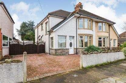 3 Bedrooms Semi Detached House for sale in Scowcroft Drive, Morecambe, Lancashire, United Kingdom, LA4
