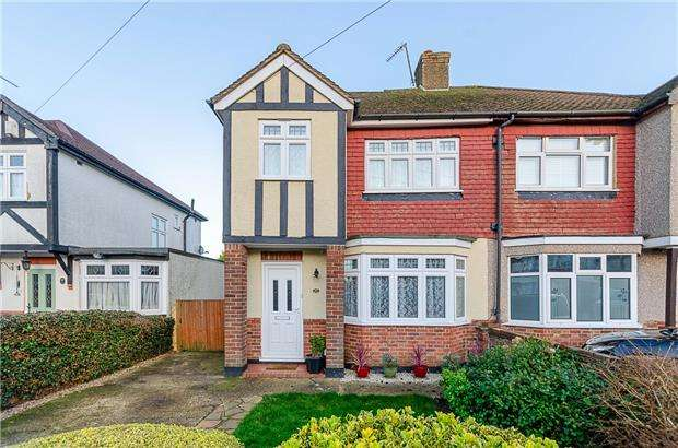 4 Bedrooms Semi Detached House for sale in Inwood Avenue, OLD COULSDON, Surrey, CR5 1LN