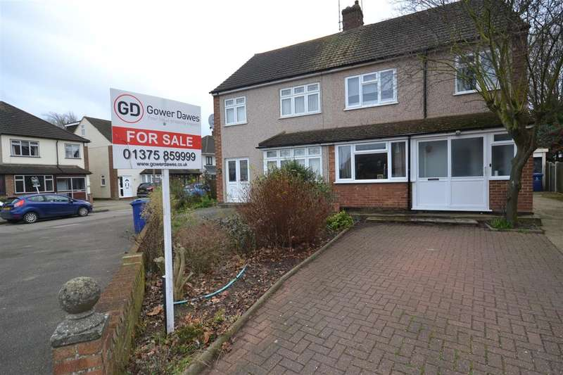 3 Bedrooms Semi Detached House for sale in Romsey Close, Stanford-Le-Hope
