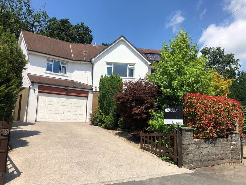 5 Bedrooms Detached House for sale in Hill Drive, Llantwit Fardre, Pontypridd