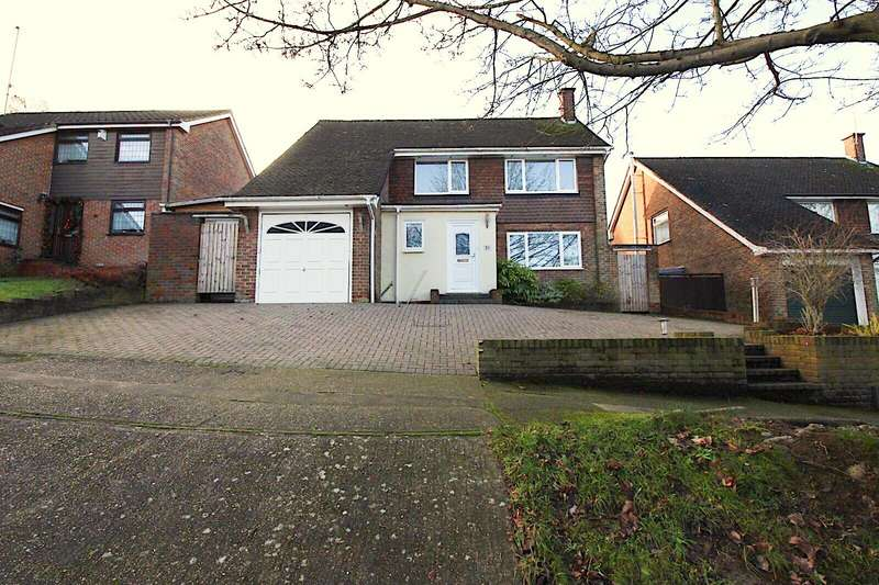 4 Bedrooms Detached House for sale in Sherwood Avenue, Chatham, Kent, ME5