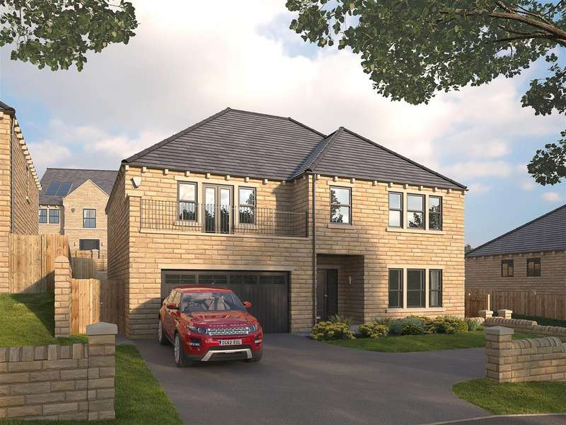 4 Bedrooms Detached House for sale in The Addington, Snelsins View, Cleckheaton