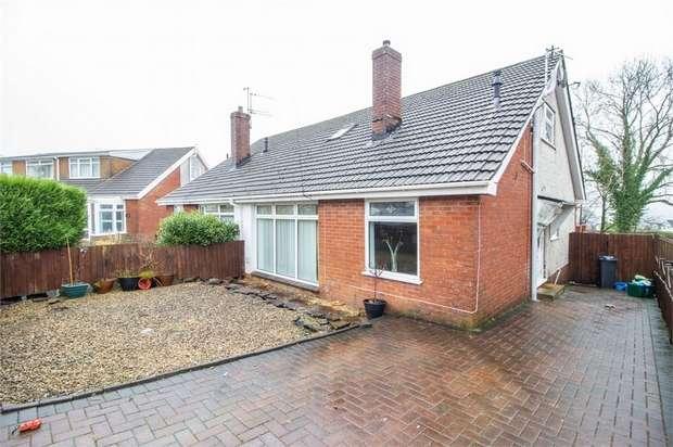 3 Bedrooms Semi Detached House for sale in Shirley Drive, Heolgerrig, Merthyr Tydfil, Mid Glamorgan