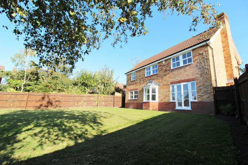 4 Bedrooms Detached House for sale in Millholme Close, Southam