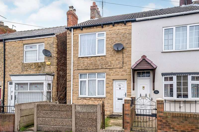 2 Bedrooms End Of Terrace House for sale in Lordens Hill, Dinnington, Sheffield, South Yorkshire, S25