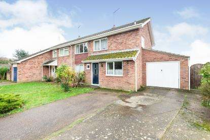 3 Bedrooms Semi Detached House for sale in Holton, Halesworth, Suffolk