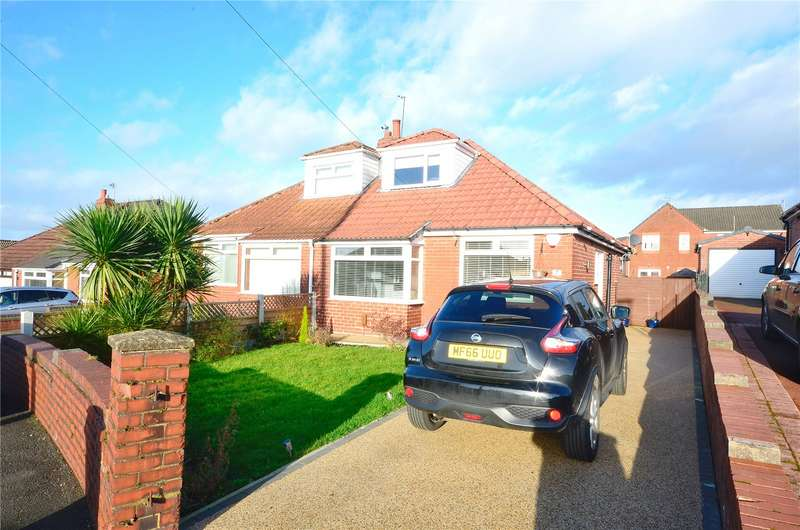 3 Bedrooms Semi Detached Bungalow for sale in Dorchester Drive, Royton, Oldham, Greater Manchester, OL2