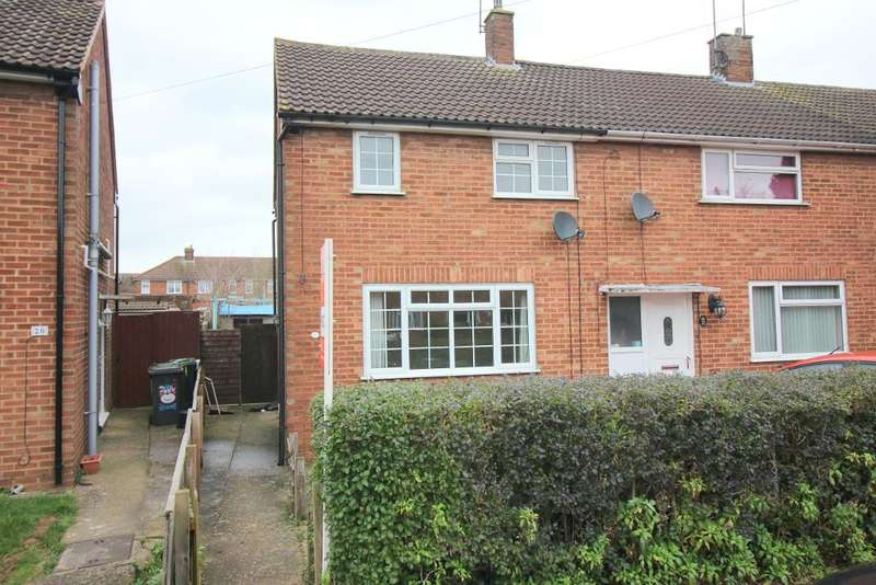 3 Bedrooms End Of Terrace House for sale in Briar Close, Luton, Bedfordshire, LU2 8EA