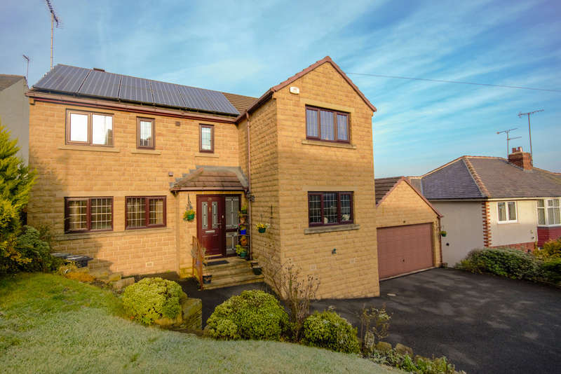 4 Bedrooms Detached House for sale in Hopton Lane, Mirfield