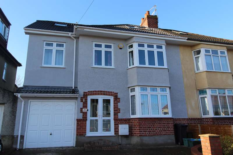 5 Bedrooms Semi Detached House for sale in Kinsale Road, Whitchurch , Bristol, BS14 9HB