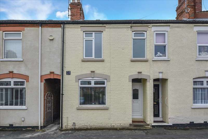 2 Bedrooms Terraced House for sale in Glassbrook Road, Rushden, Northants, NN10 9TG