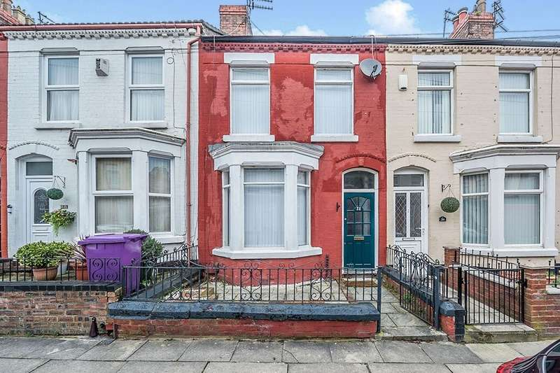 3 Bedrooms Terraced House for rent in Rosthwaite Road, Liverpool, L12