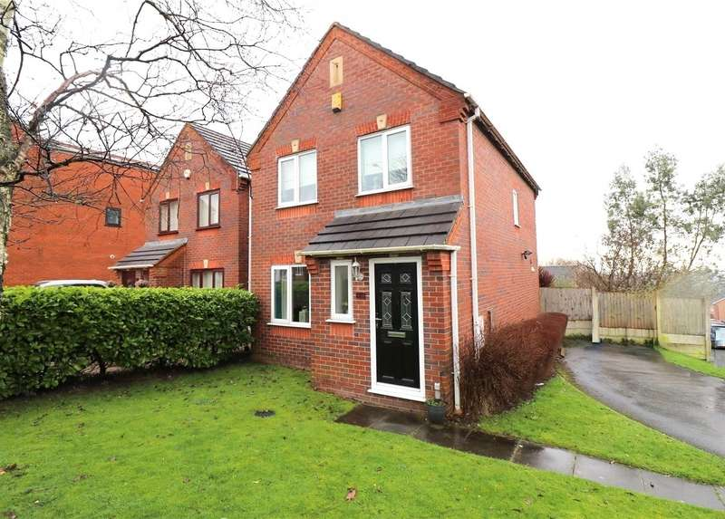 3 Bedrooms Detached House for sale in Manchester Road, Tyldesley, Manchester, Greater Manchester, M29
