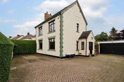 3 Bedrooms Detached House for sale in New Street, Chase Terrace, Burntwood, Staffordshire
