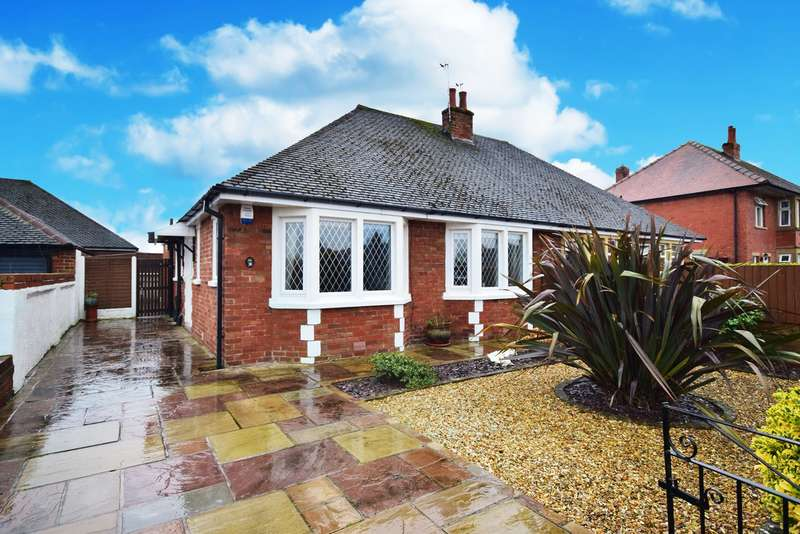 2 Bedrooms Semi Detached Bungalow for sale in Allenby Road, Lytham St Annes, FY8