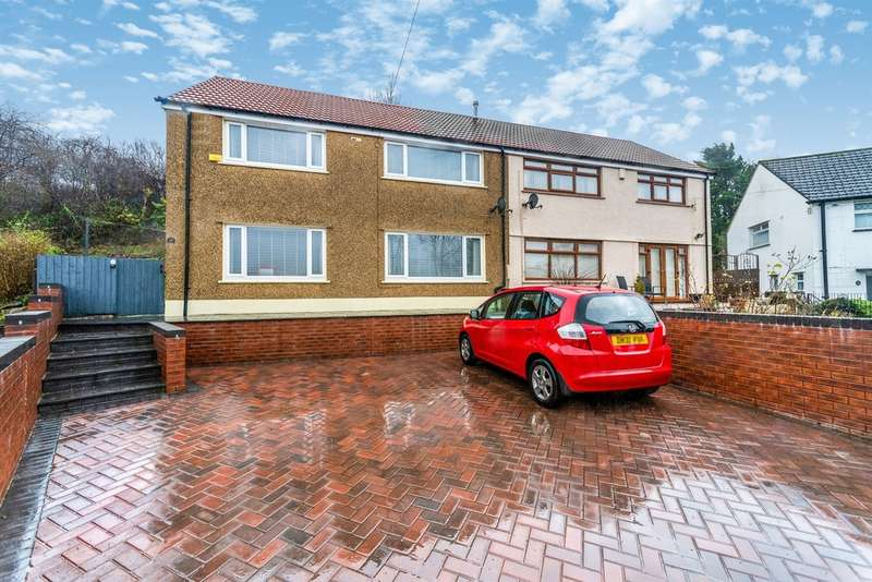 4 Bedrooms Semi Detached House for sale in Billingham Crescent, Merthyr Tydfil