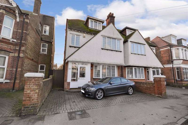 6 Bedrooms Semi Detached House for sale in Northdown Park Road, Margate, Kent