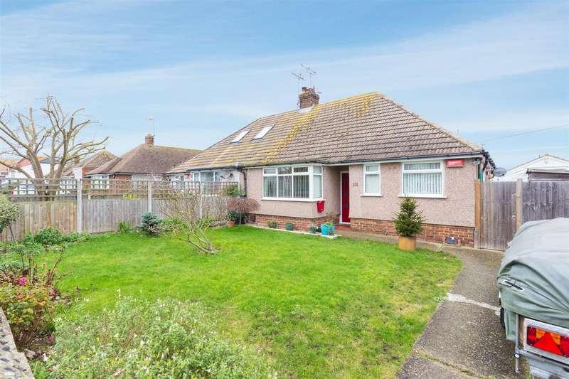 2 Bedrooms Semi Detached Bungalow for sale in Cross Road, Birchington