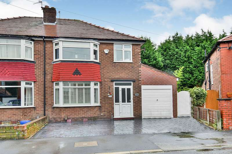 3 Bedrooms Semi Detached House for sale in Downs Drive, Timperley, Altrincham, Greater Manchester, WA14