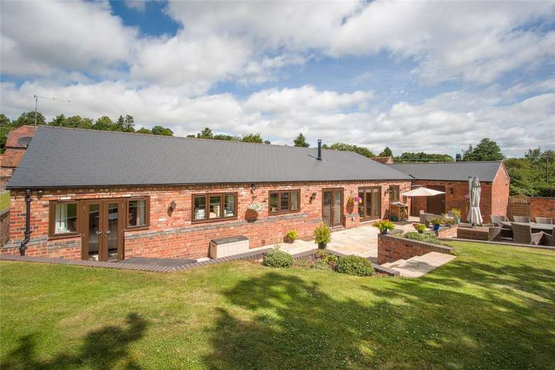 4 Bedrooms Barn Conversion Character Property for sale in Blakeshall Farm Barns, Blakeshall, Wolverley, Kidderminster, DY11