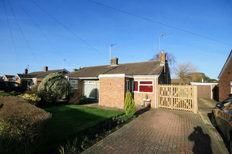 2 Bedrooms Semi Detached Bungalow for sale in Ansell Way, Hardingstone, Northampton, NN4