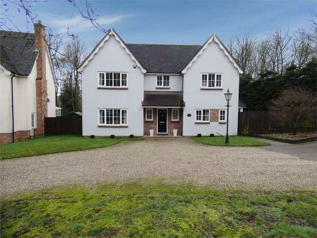 4 Bedrooms Detached House for sale in Rectory Park, Boxford, Sudbury, Suffolk