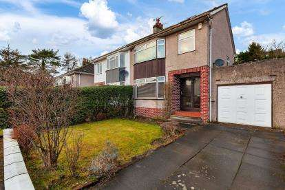 4 Bedrooms Semi Detached House for sale in Westbourne Drive, Bearsden