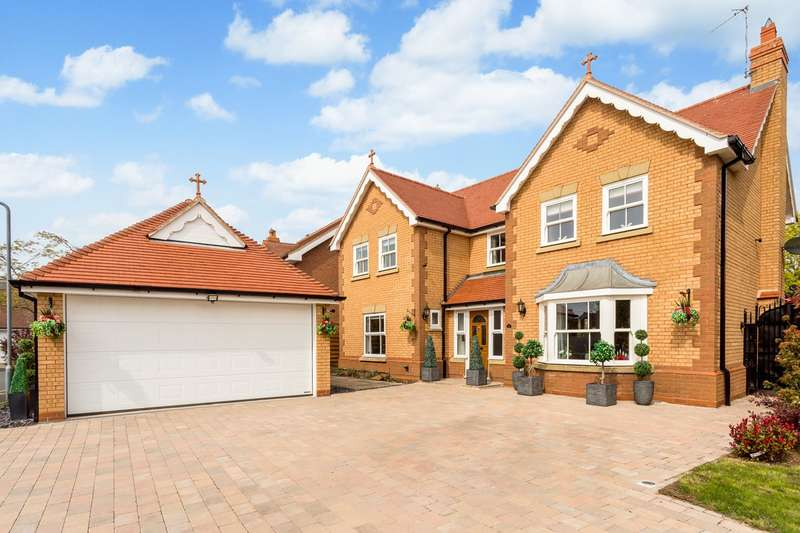 5 Bedrooms Detached House for sale in Prince Henrys Close, Evesham, WR11
