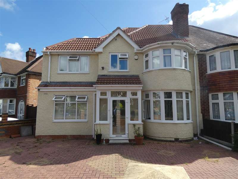 5 Bedrooms Semi Detached House for rent in Charminster Avenue, Yardley, Birmingham