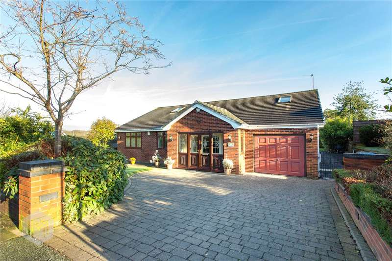 5 Bedrooms Detached Bungalow for sale in Crossfield Drive, Worsley, Manchester, M28