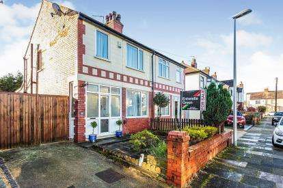3 Bedrooms Semi Detached House for sale in Knaresboro Avenue, Nr Stanley Park, Blackpool, Lancashire, FY3