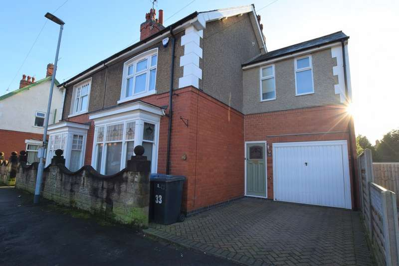 4 Bedrooms Semi Detached House for sale in Canning Street , Hinckley LE10
