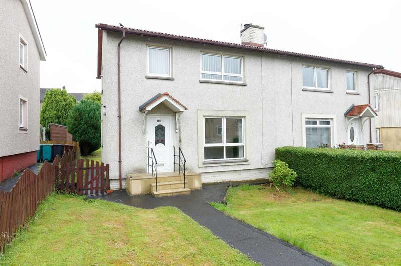 3 Bedrooms Semi Detached House for sale in Thrashbush Road, Thrashbush, Airdrie, North Lanarkshire, ML6 6QT