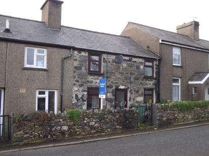 2 Bedrooms Terraced House for sale in Garndolbenmaen, Gwynedd, LL51