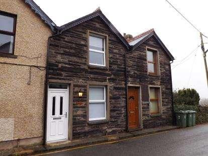 2 Bedrooms Terraced House for sale in Fron Heulog, Penrhyndeudraeth, Gwynedd, LL48
