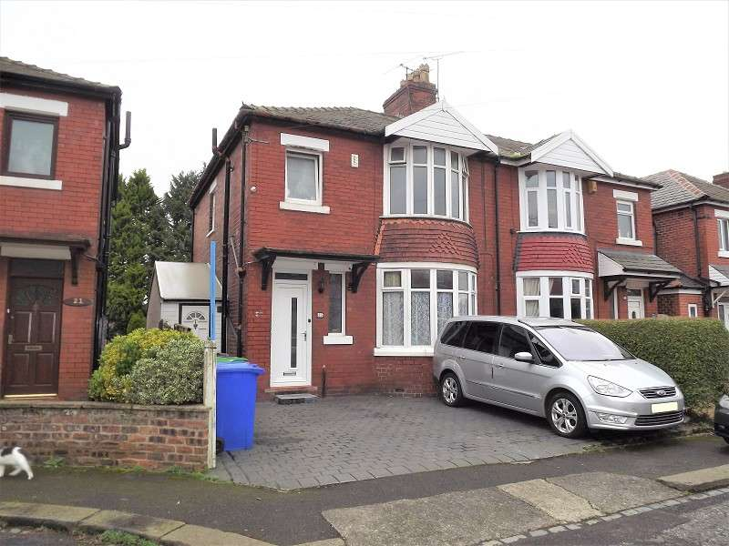 3 Bedrooms Semi Detached House for sale in Hillcrest Drive, Manchester, Greater Manchester. M19 2RX