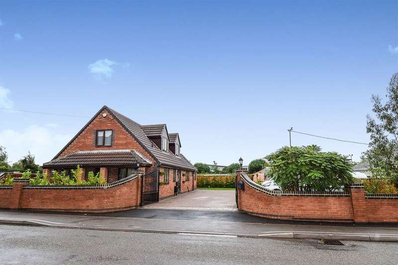4 Bedrooms Detached Bungalow for sale in Ashby Road, Coalville, LE67