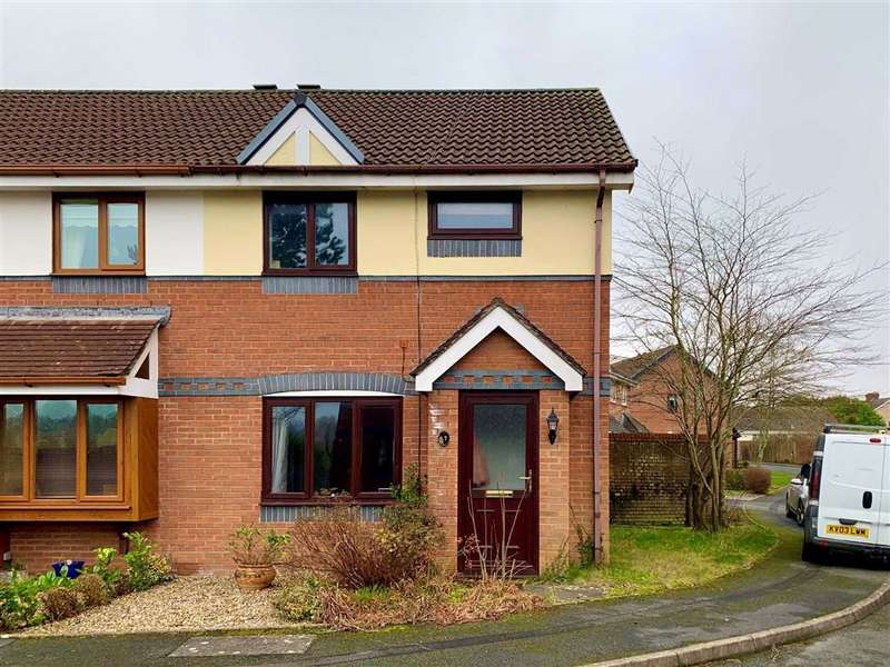 3 Bedrooms Semi Detached House for sale in Kingfisher Court, Llanelli