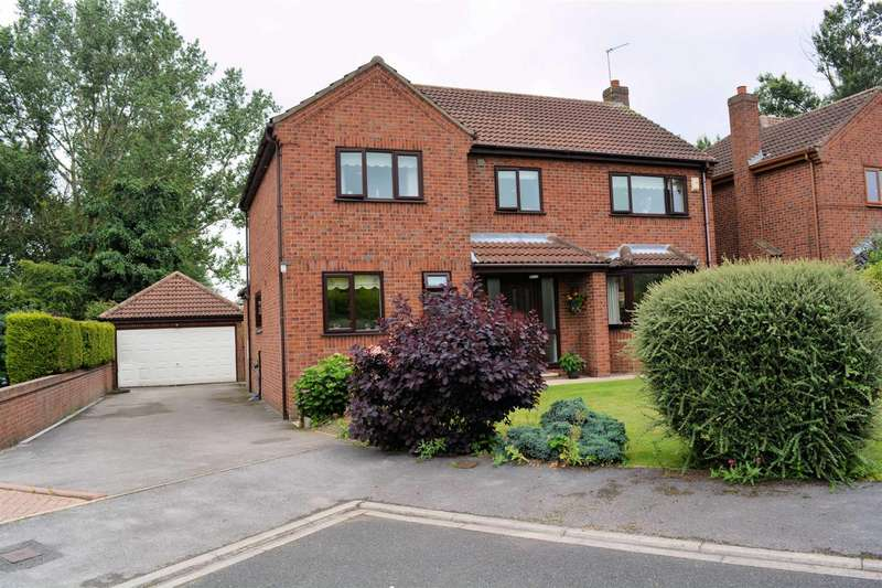 4 Bedrooms Detached House for sale in Meadway Crescent, Leeds Road, Selby