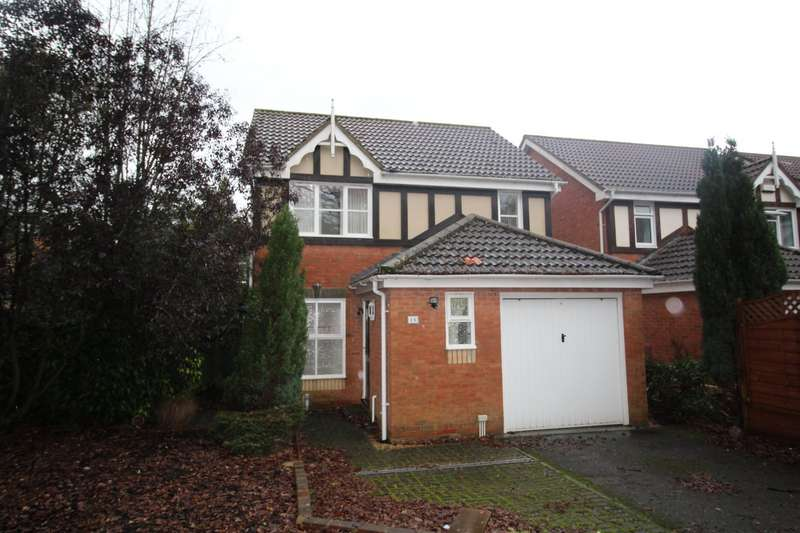 3 Bedrooms Detached House for sale in Sovereign Close, Totton, Southampton, Hampshire, SO40
