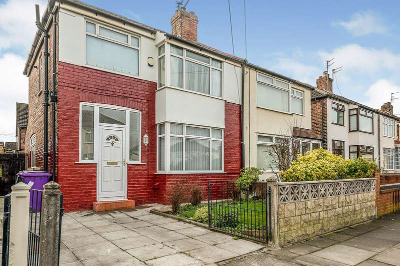 3 Bedrooms Semi Detached House for sale in Lisleholme Road, Liverpool, Merseyside, L12