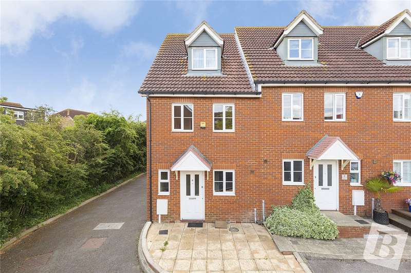 3 Bedrooms End Of Terrace House for sale in Tenor Drive, Hoo, Rochester, Kent, ME3