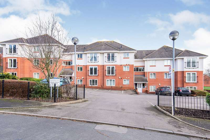 2 Bedrooms Apartment Flat for sale in Old School Court, Peggs Close, Leicester, Leicestershire, LE9