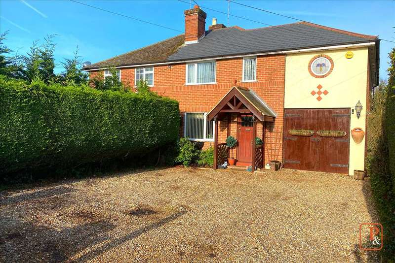 4 Bedrooms Semi Detached House for sale in Meyrick, Colchester Road, Great Bromley, Colchester