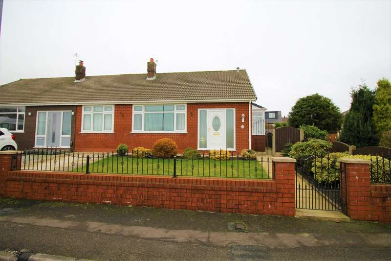2 Bedrooms Semi Detached Bungalow for sale in Meads Grove, Farnworth, Bolton, BL4