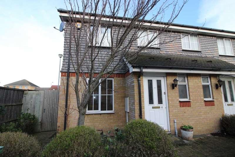 3 Bedrooms Semi Detached House for sale in Kentlea Road, Thamesmead West, SE28 0JP