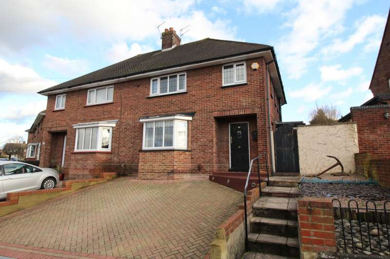 3 Bedrooms Semi Detached House for sale in St. Georges Crescent, Gravesend, Kent, DA12