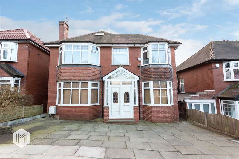 4 Bedrooms Detached House for sale in Glebelands Road, Prestwich, Manchester, Greater Manchester, M25